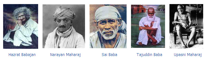 Five Perfect Masters of Meher Baba
