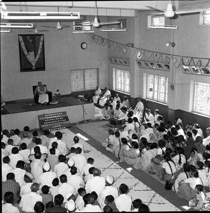 MEHER BABA AT PUNE CENTER