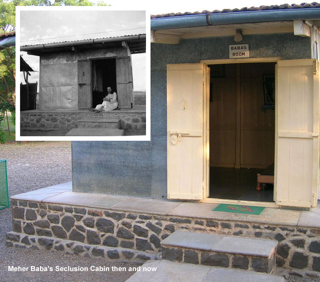 Meher Baba's Seclusion Room on Meherabad Hill